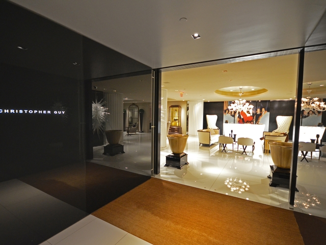 High-Tech Meets Haute in Christopher Guy's NYC Showroom